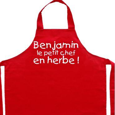 Articles personnalis s pour la cuisine simply colors for Tabliers de cuisine personnalises